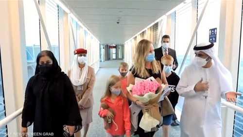 الإمارات تلم شمل عائلة أسترالية علقت في سريلانكا