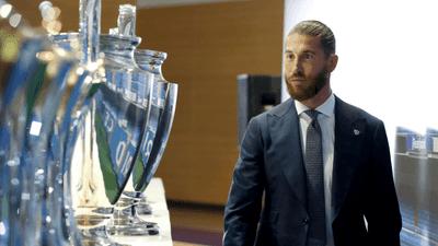"""راموس ينخرط في البكاء..وريال مدريد يودعه بـ""""فيديو الإنجازات"""""""