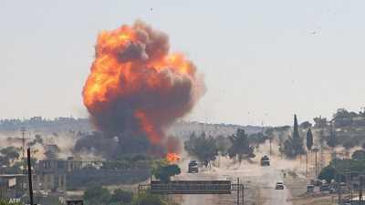 """قصف شمال غربي سوريا.. روسيا """"تحمل رسالة لتركيا"""""""