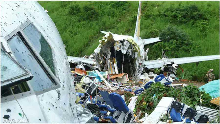 92 شخصا كانوا على متن الطائرة.