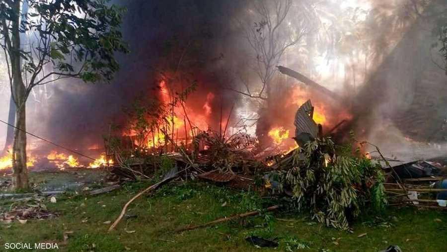 تحطمت الطائرة على جزيرة جولو في مقاطعة سولو.