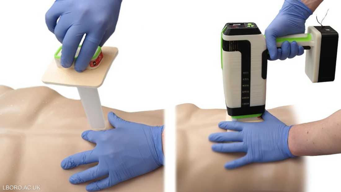 """الجهاز قادر على وقف نزيف الجروح في """"دقيقة واحدة"""""""