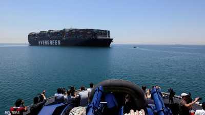 """مصر تطوي صفحة السفينة """"إيفر غيفن"""""""