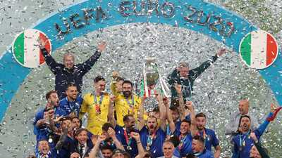 إيطاليا تحرز لقبها الثاني بالفوز على إنجلترا في يورو 2020