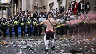 شرطة لندن تعتقل العشرات خلال نهائي بطولة أوروبا 2020