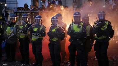 لندن.. إصابة 19 شرطيا في ليلة فوز إيطاليا على إنجلترا