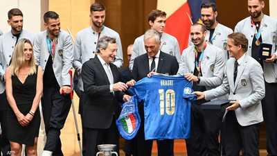 """""""مكافأة سخية"""".. هذا المبلغ لكل لاعب بمنتخب إيطاليا"""