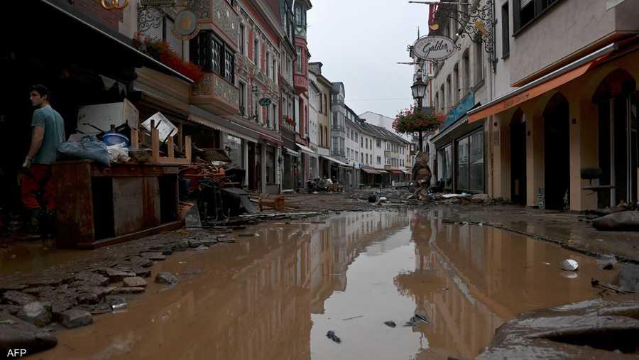 خسائر كبيرة في البنية التحتية بمنطقة باد نوينار آرفايلر