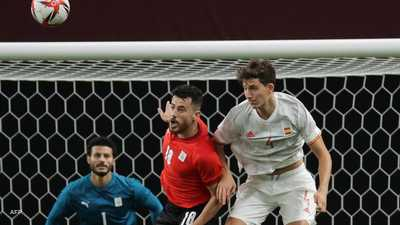 """الشناوي يتألق ومصر تقتنص نقطة """"أولمبية"""" ثمينة من إسبانيا"""