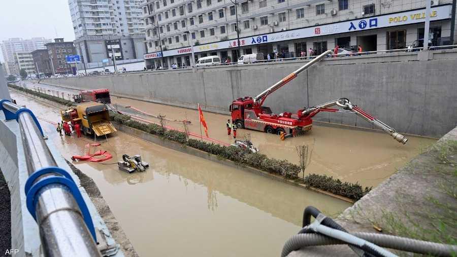 إجمالي الخسائر في تشنغتشو بلغ حوالي 10 مليارات دولار وفق تقارير محلية.
