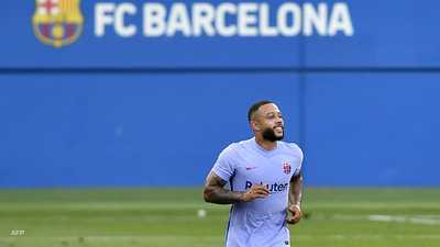 ديباي يهز الشباك في أول مباراة بألوان برشلونة