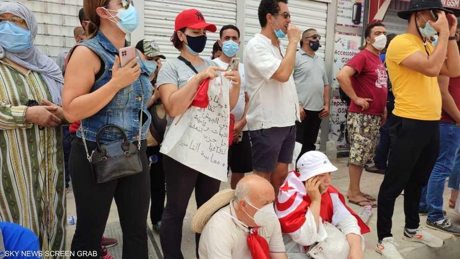 الاحتجاجات خرجت بشكل سلمي