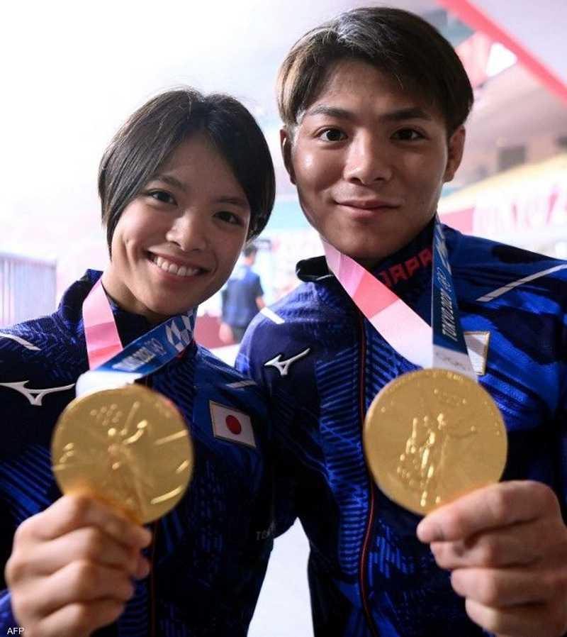 فاز الشقيقان اليابانيان هيفومي وأوتا آبي بميداليتين ذهبيتين