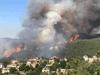 حريق غابات ضخم في عكار شمالي لبنان