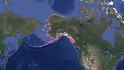 زلزال عنيف يضرب آلاسكا وتحذير من تسونامي