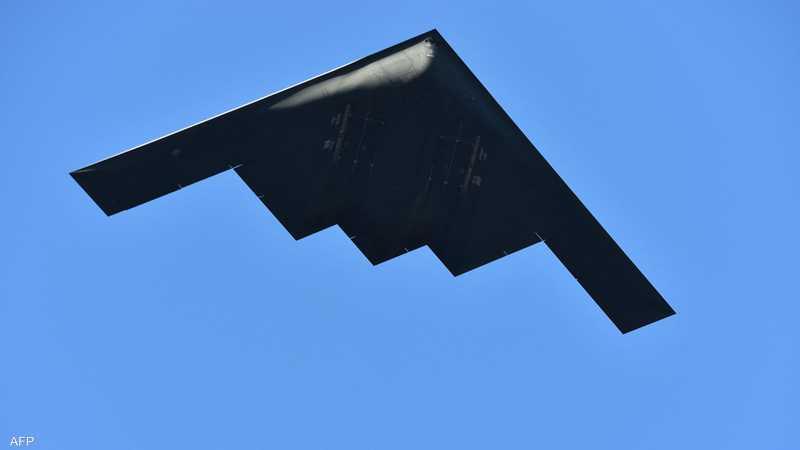 """يتم إلقاء القنبلة من الجو بطائرات """"بي تو سبيريت"""" الأميركية"""