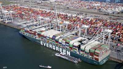 """بعد أشهر """"تاريخية"""".. """"إيفر غيفن"""" تصل ميناء روتردام"""