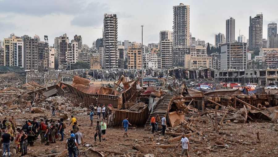 اتهمت منظمة هيومان رايتس ووتشن الحقوقية مسؤولين لبنانيين كبار بالتورط في الانفجار المدمر.