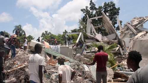 زلزال مدمر هزّ هايتي