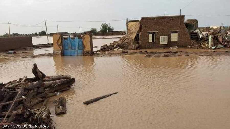 السيول تخلف أضرارا كبيرة لسكان الجزيرة