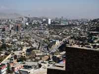 جانب من مدينة كابول