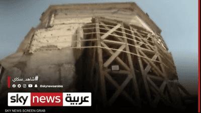 كاميرا سكاي نيوز عربية تجول في مسجد النوري بالموصل