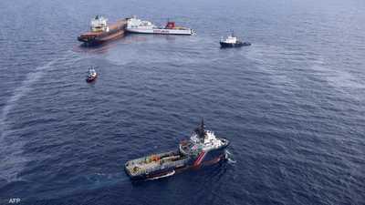 بالفيديو.. بقعة نفطية مصدرها سوريا تهدد سواحل قبرص الشمالية