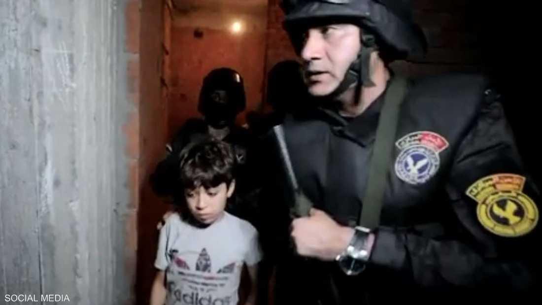 قوات الأمن أعادت زياد إلى أسرته