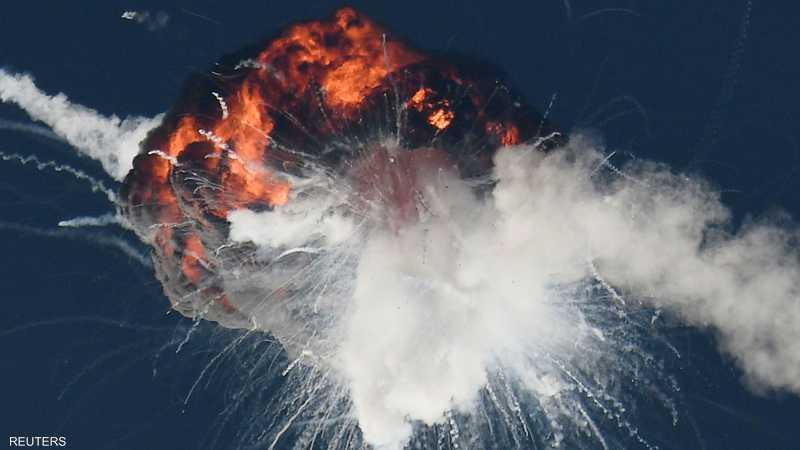 الصاروخ ألفا انحرف عن مساره وانفجر بحسب ما أعلنت الشركة
