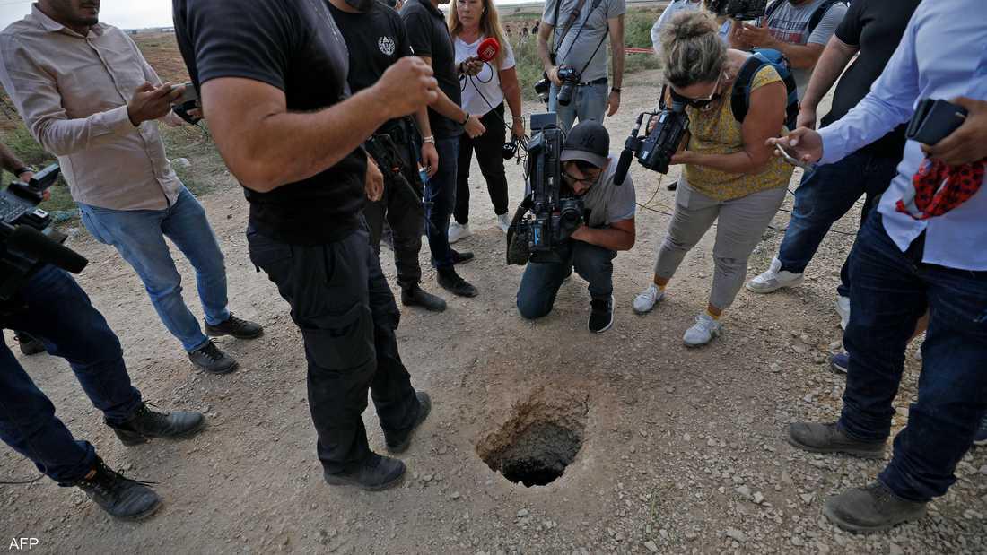 استغرقت عملية حفر النفق من أسفل السجن الإسرائيلي نحو 9 أشهر.