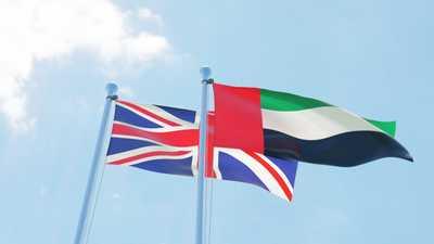 بيان مشترك بين الإمارات وبريطانيا يؤكد زيادة التعاون الثنائي