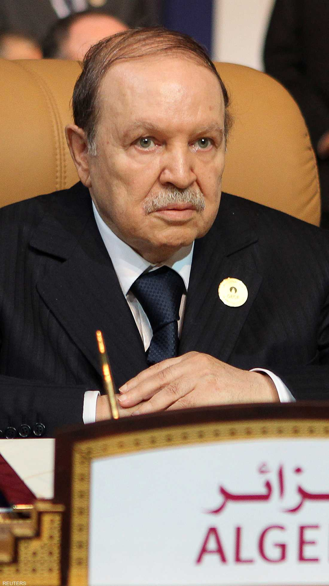 أصبح بوتفليقة أطول رؤساء الجزائر ببقائه نحو 20 عاما في الحكم