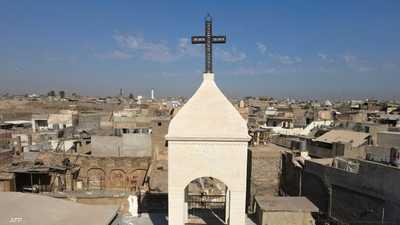 كنيسة في الموصل تدق الجرس لأول مرة منذ سيطرة داعش