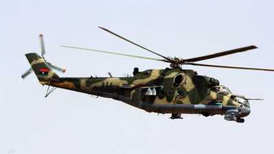 مقتل ضابطين في تصادم مروحيتين شرقي ليبيا