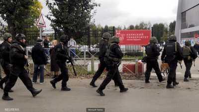 فيديو يرصد الهروب والرعب داخل جامعة روسية.. وكشف هوية القاتل