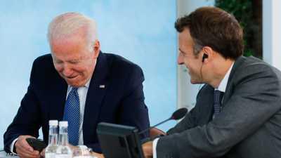 """الرئاسة الفرنسية تكشف ما ينتظره ماكرون من """"مكالمة بايدن"""""""