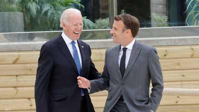 ماكرون وبايدن يتوافقان.. السفير الفرنسي سيعود إلى واشنطن