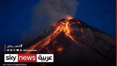 رصد تشققات جديدة في بركان جزيرة لا بالما الكنارية