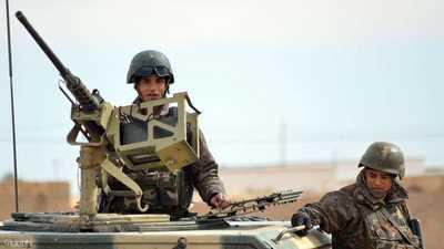 عنصران من الجيش التونسي