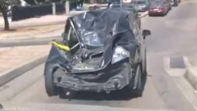 """فيديو.. السيارة """"الزومبي"""" تثير الدهشة في لبنان"""