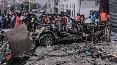 بالقرب من مقر رئيس الصومال.. قتلى في تفجير انتحاري