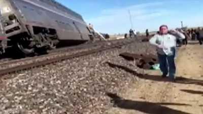 صور.. قتلى وجرحى إثر خروج قطار عن مساره في مونتانا الأميركية