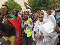 الدعوات للتظاهر تأتي وسط خلافات داخل مجلس السيادة الانتقالي.
