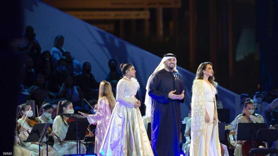 الجسمي يغني رائعة الشيخ زايد الشعرية في حفل افتتاح إكسبو