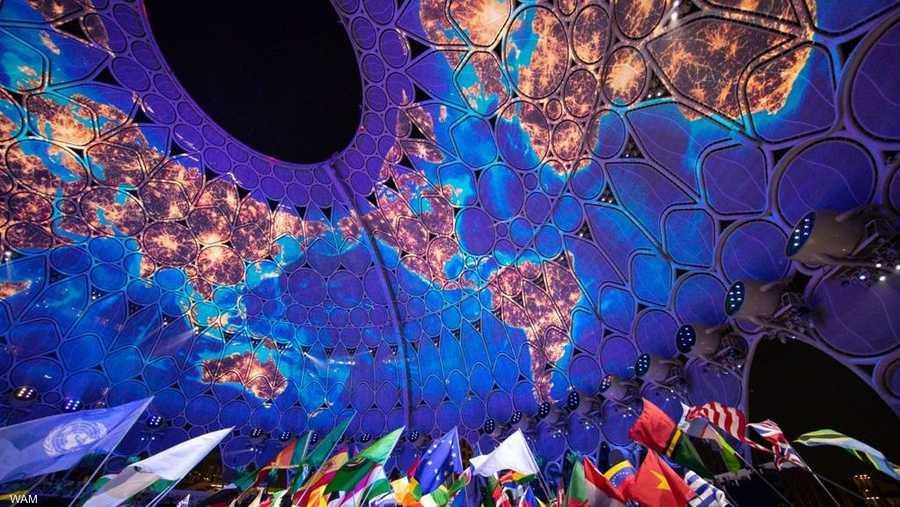 بدأ بث حفل الافتتاح على الهواء مباشرة عبر أكثر من 430 موقعا في جميع أنحاء دولة الإمارات.