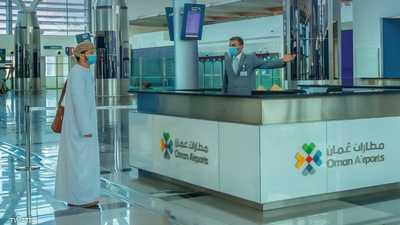 """إعصار شاهين"" يؤجل رحلات مطار مسقط"