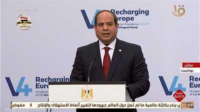 السيسي: مصر حريصة على إنتاج لقاحات مضادة لكورونا