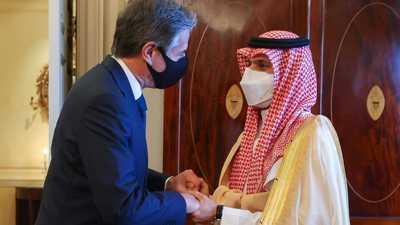 مباحثات أميركية سعودية في واشنطن بين بلينكن وفيصل بن فرحان
