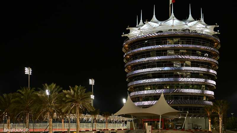 الافتتاح في من البحرين في 20 مارس