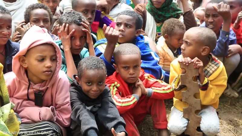 الأمم المتحدة تكشف عن سوء تغذية حاد لدى أطفال تيغراي